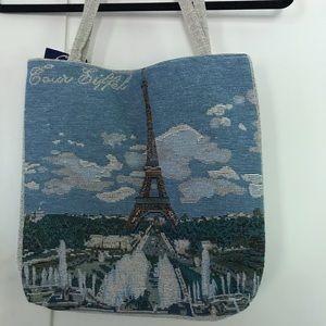 """""""Tour Eiffel"""" tote bag, NWT! Super cute!"""